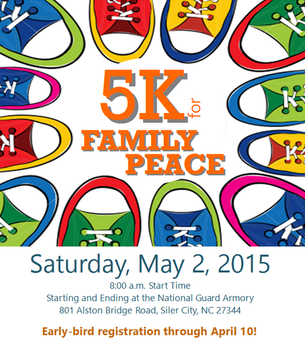 5 K for Family Peace
