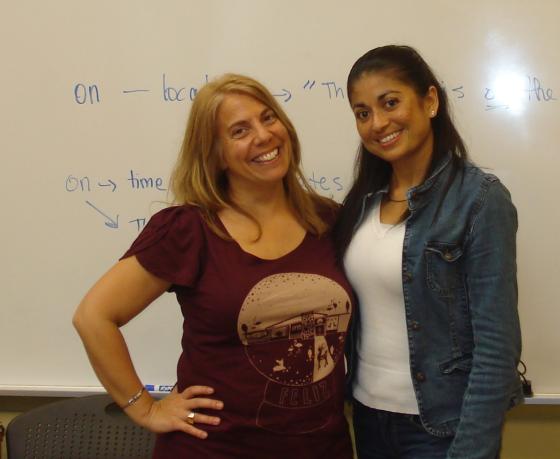 Maria and Ms. Julia