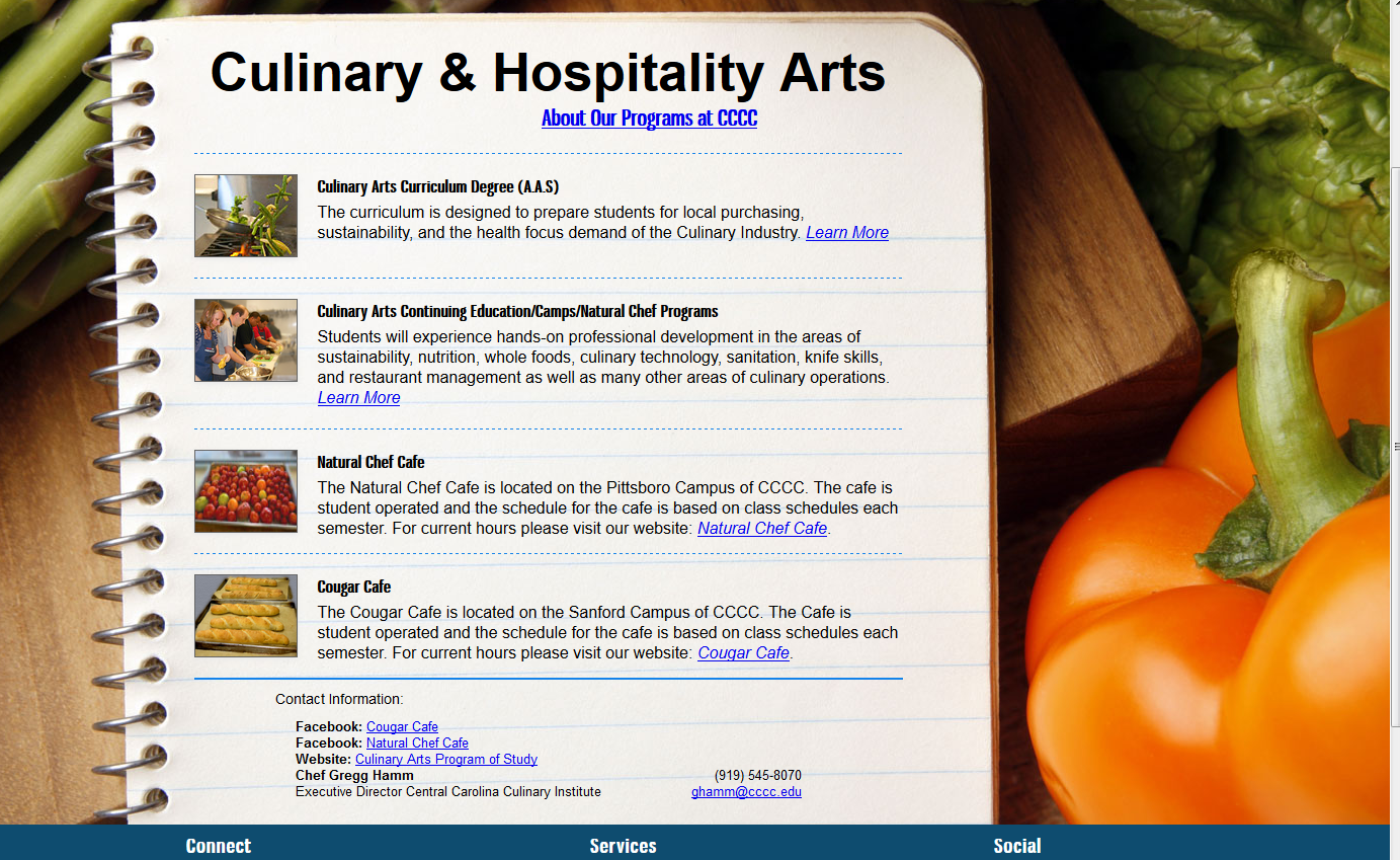 Culinary & Hospitality Arts Program