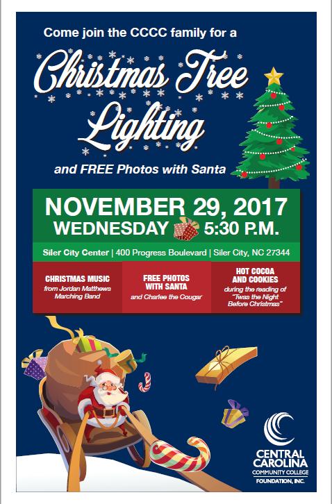 Siler City Center Christmas Tree Lighting2017