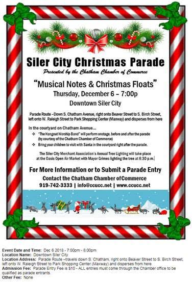 Siler City Christmas Parade2018